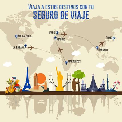 Los 7 destinos donde deberías viajar con un Seguro de Viaje